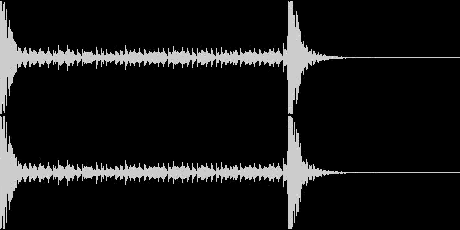 和風ドラムロール[和太鼓、鼓]10秒_1の未再生の波形