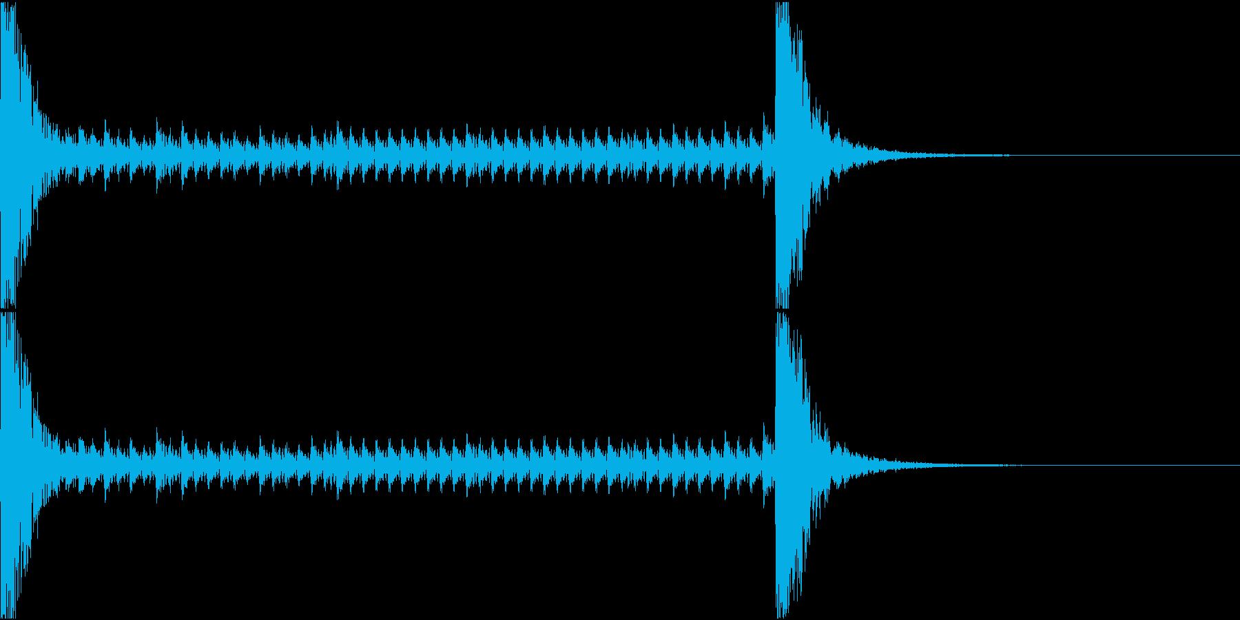 和風ドラムロール[和太鼓、鼓]10秒_1の再生済みの波形