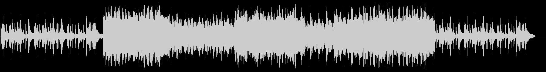 親子の感動シーンをイメージしたピアノ曲の未再生の波形
