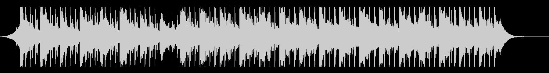 ミニマリズム(60秒)の未再生の波形