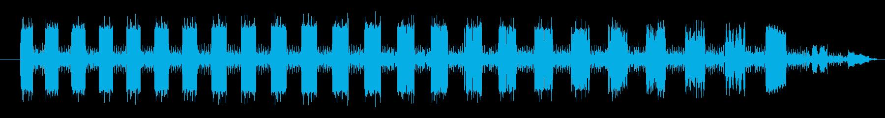 FX 作業ロボット03の再生済みの波形