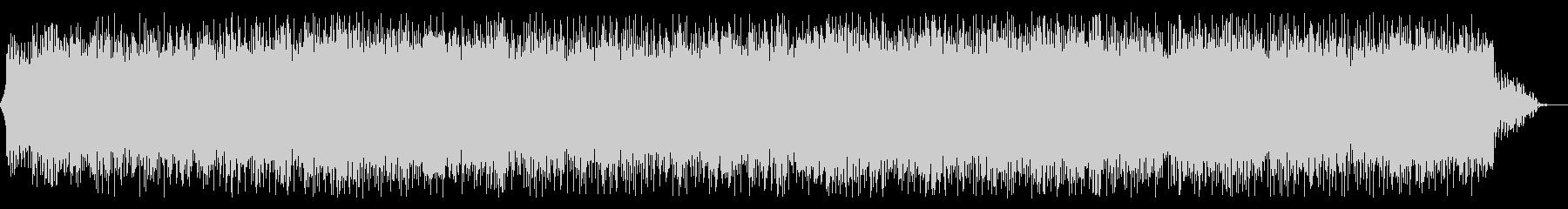 クールなイメージのハウス系楽曲の未再生の波形
