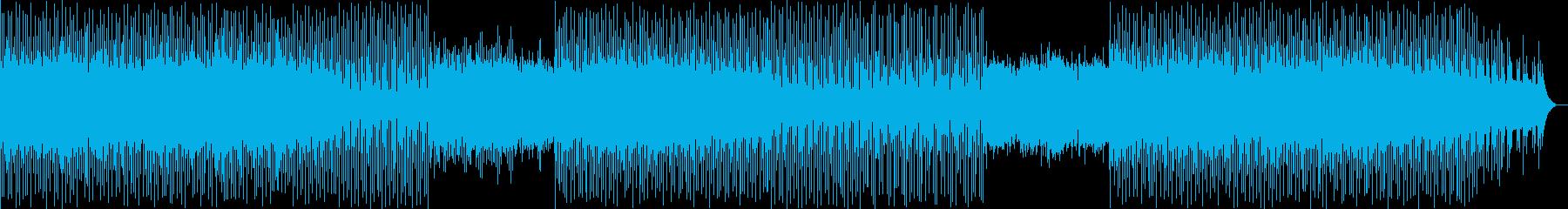 神秘的で綺麗なメロディーの再生済みの波形