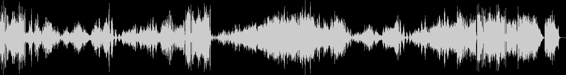 ブラームス/ヴァイオリン・ソナタ3-4の未再生の波形