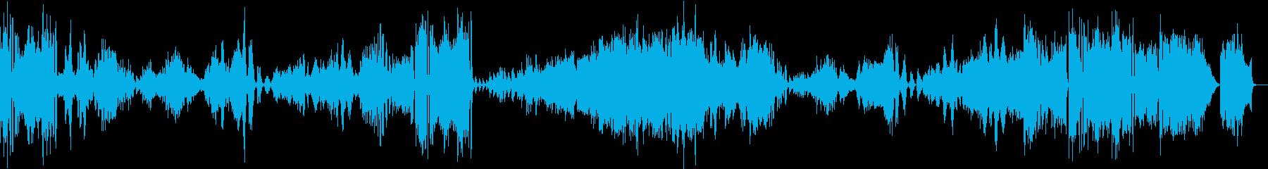 ブラームス/ヴァイオリン・ソナタ3-4の再生済みの波形