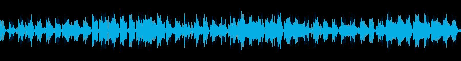 ゲーム向けのかわいい日常系リコーダーの再生済みの波形