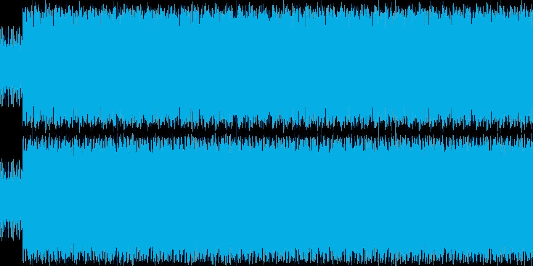 考察、思慮、割とみっちりしたドラムの再生済みの波形