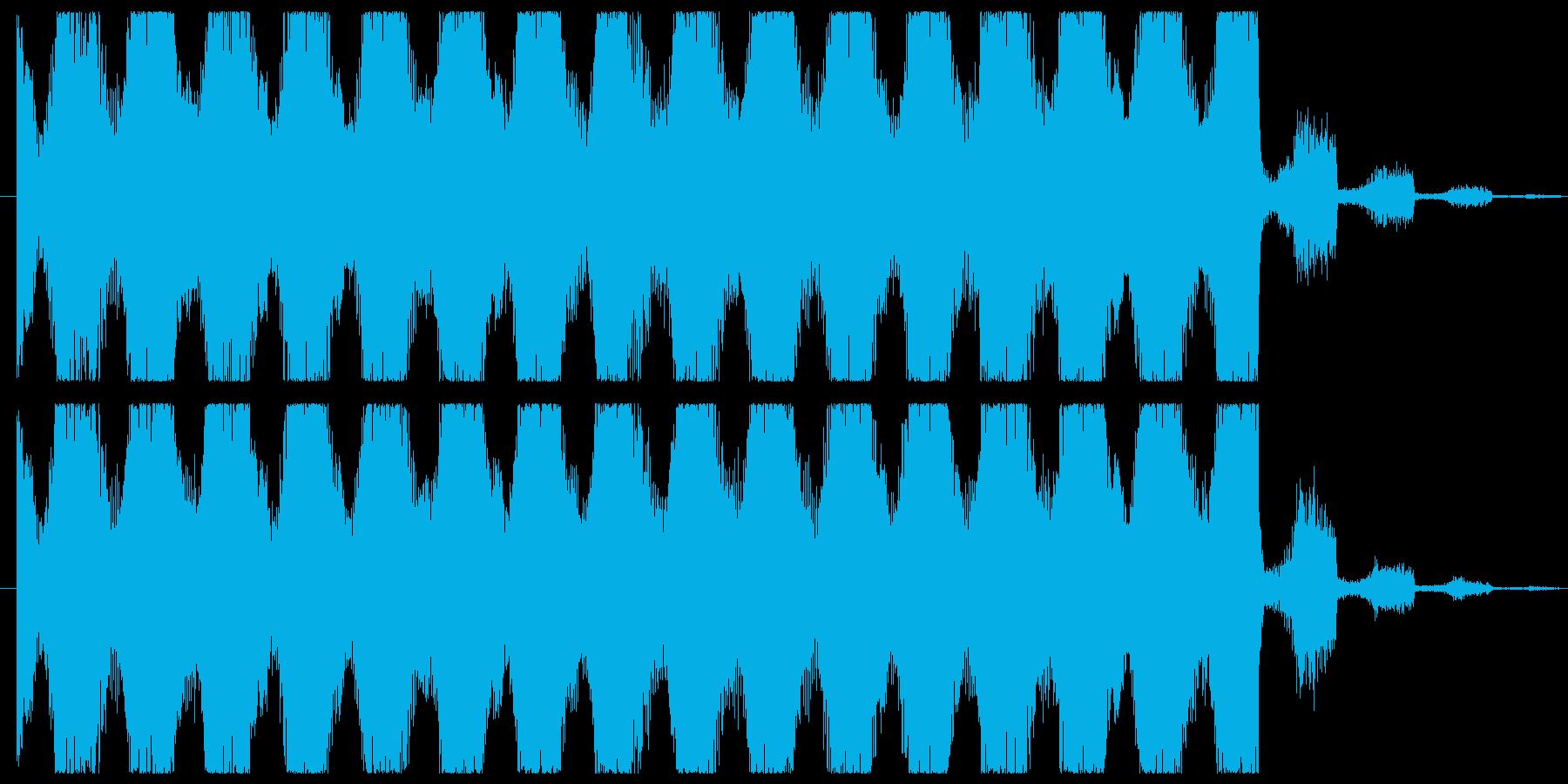 お洒落なEDMダンスミュージックジングルの再生済みの波形