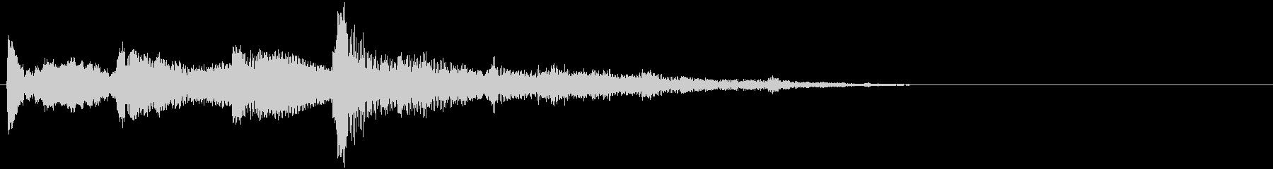 高音質シンセアクセントとグール2の未再生の波形