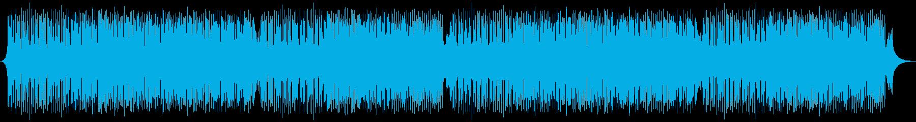 緊張感のある サスペンス ミステリー風の再生済みの波形