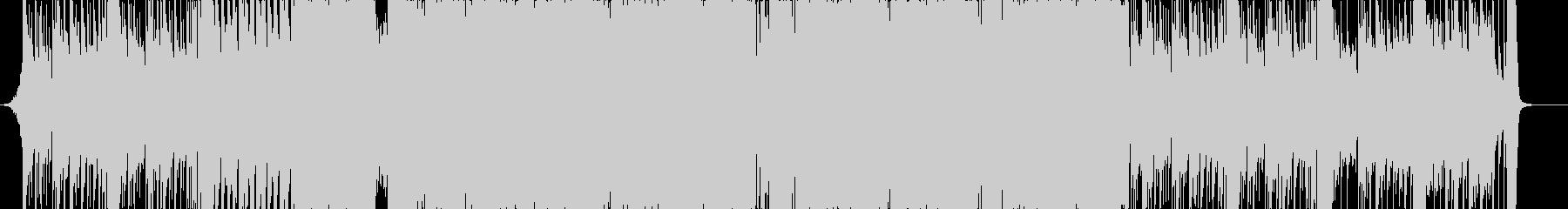激しめなトラップの未再生の波形