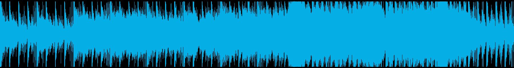神秘・幻想的/和風/ゲーム系BGM/M5の再生済みの波形