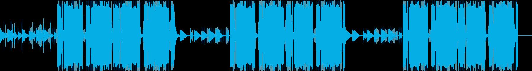 和風ヒップホップ・トラップ・三味線ギターの再生済みの波形