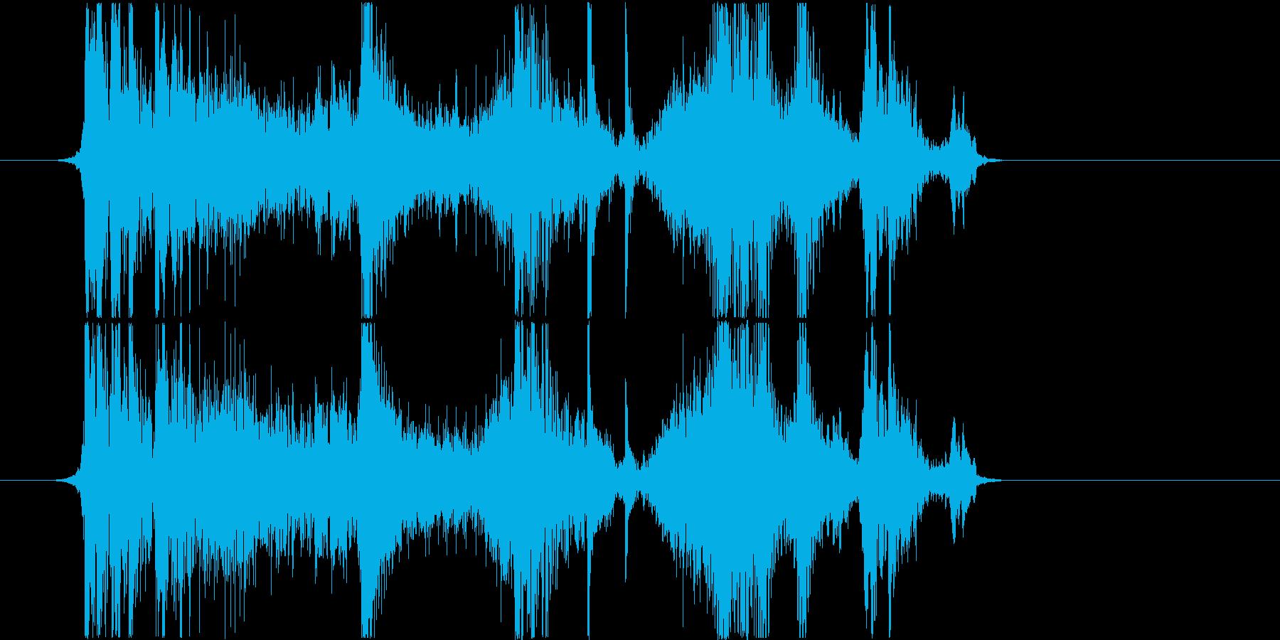 フィクション 力学 機械変換02の再生済みの波形
