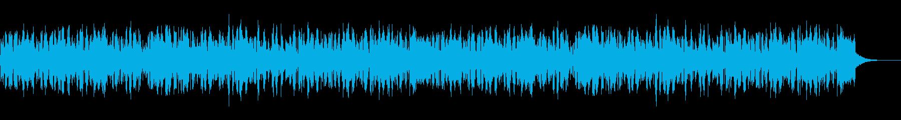 虫の応援団の再生済みの波形