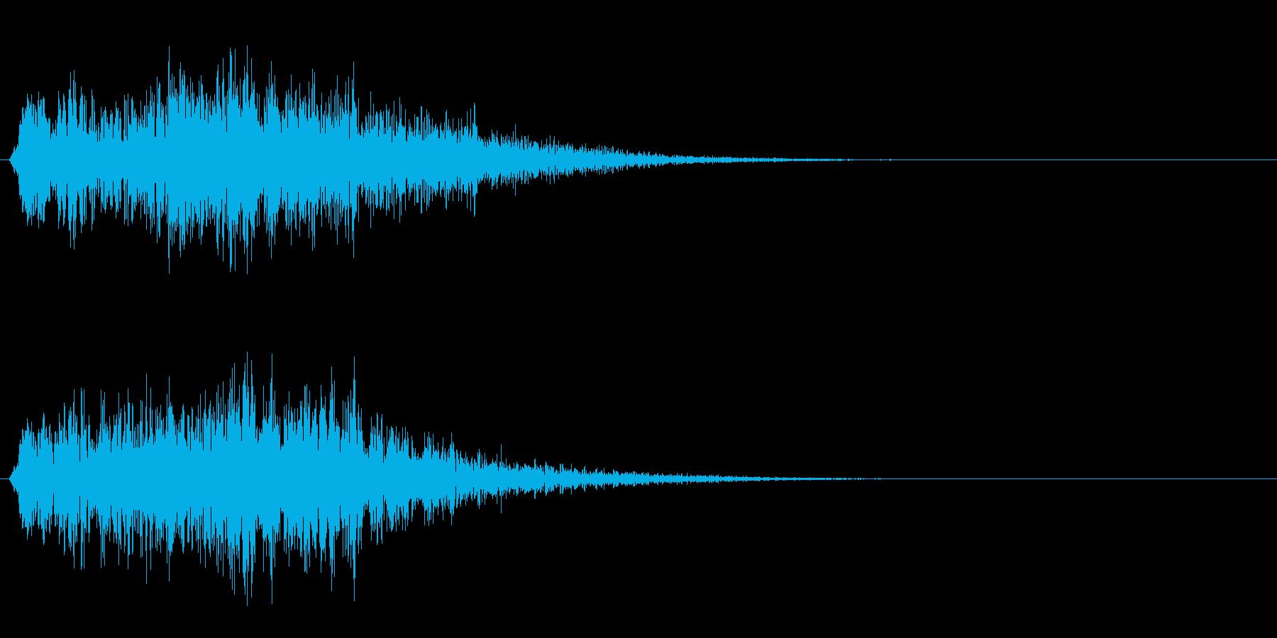 魔法 3の再生済みの波形