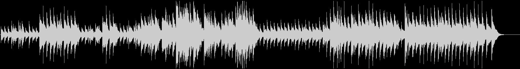 プロムナード(展覧会の絵)ハーピアノの未再生の波形