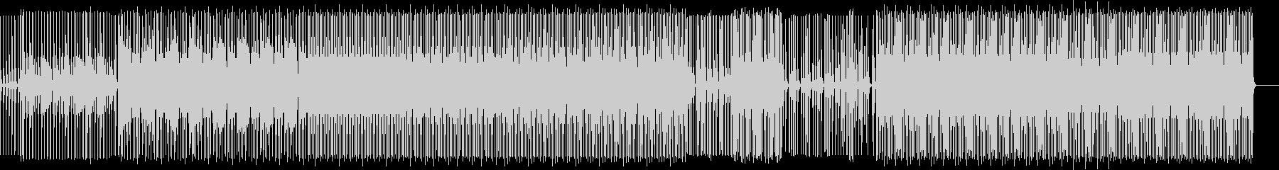 プロモーション動画向けシンプルエレクトロの未再生の波形