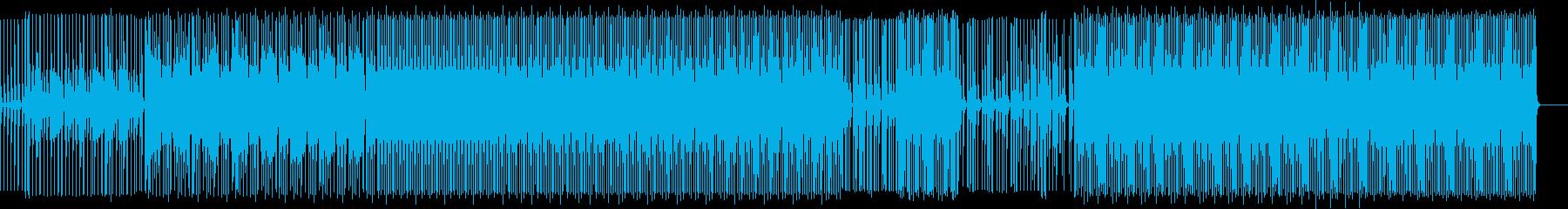 プロモーション動画向けシンプルエレクトロの再生済みの波形