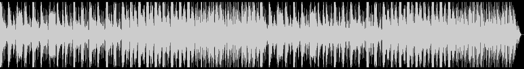純和風な琴+エレクトロニカの未再生の波形