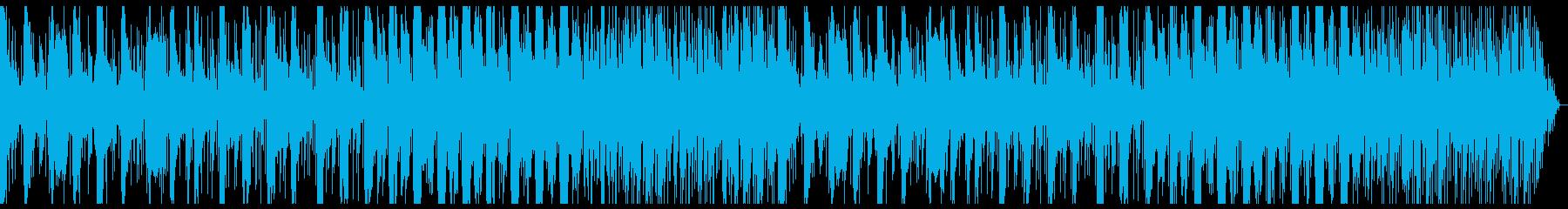 純和風な琴+エレクトロニカの再生済みの波形