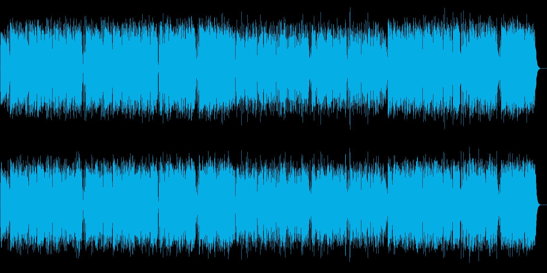 Marchの再生済みの波形