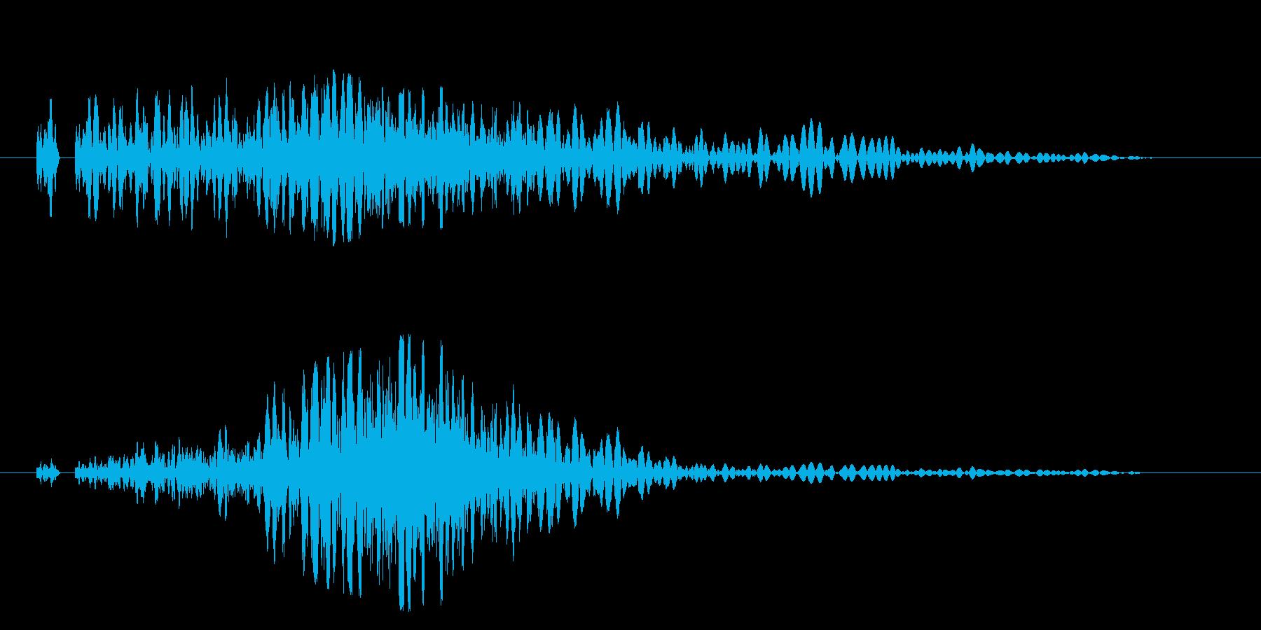 スワイプや場面転換の演出に最適です!07の再生済みの波形