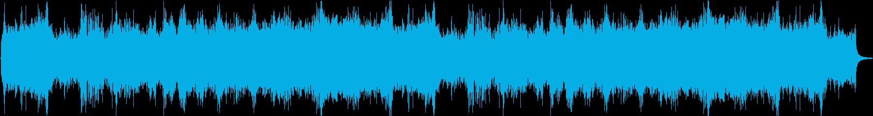 ファンタジー系(オーケストラ)戦闘曲の再生済みの波形