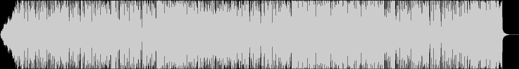 ブラスを使用したファンキーな曲、映像等にの未再生の波形