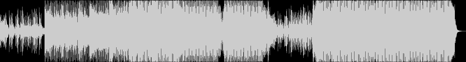 EDM リアル 明るい ピアノ 始まりの未再生の波形