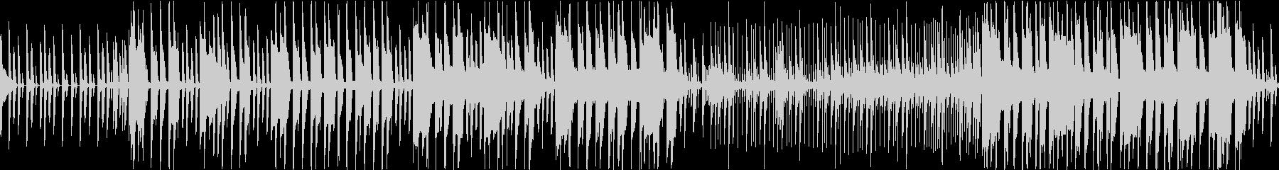 メニュー選択画面のBGM(ループ仕様)の未再生の波形