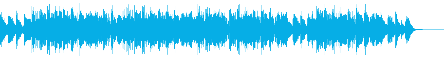 エンディング感のある切ないヒップホップの再生済みの波形
