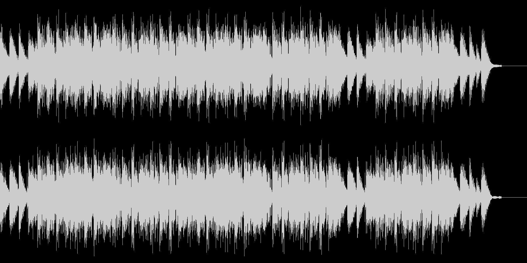 エンディング感のある切ないヒップホップの未再生の波形