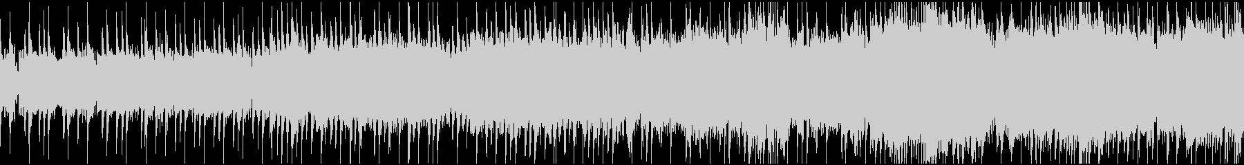 ガッツリ ワイルドなギターサウンドの未再生の波形