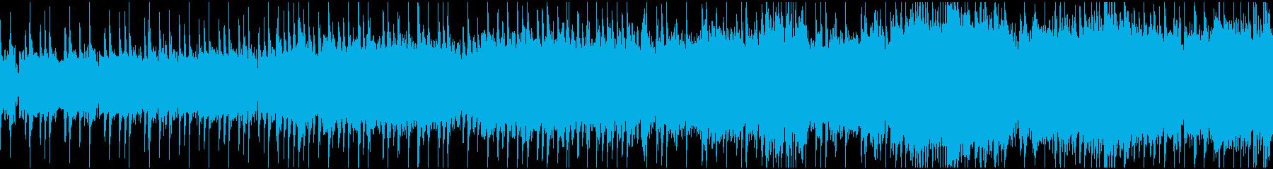 ガッツリ ワイルドなギターサウンドの再生済みの波形