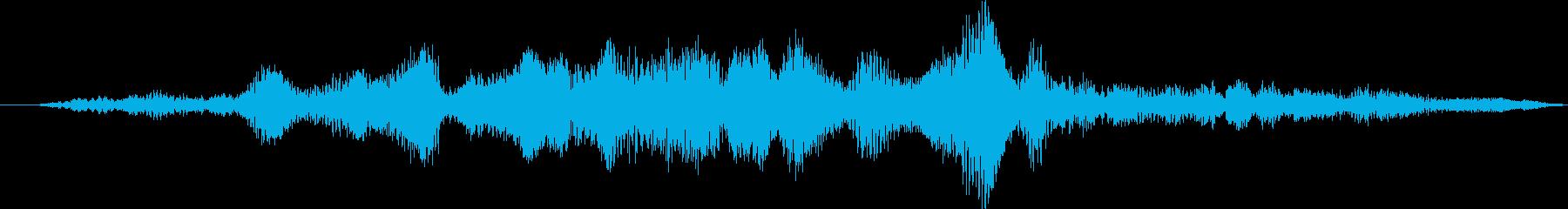 スペースワームホール:変形または出...の再生済みの波形