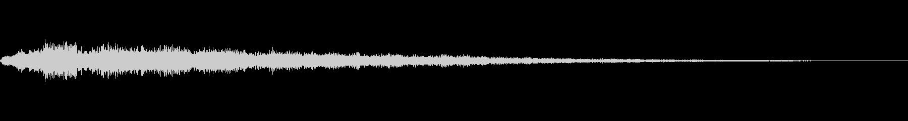クリック音63サウンドロゴ ストリングスの未再生の波形