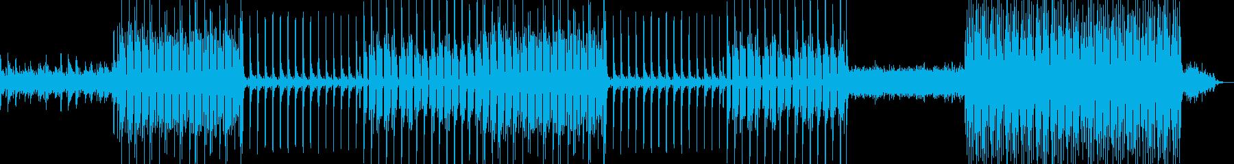 ピアノとアコースティックギターをメイン…の再生済みの波形