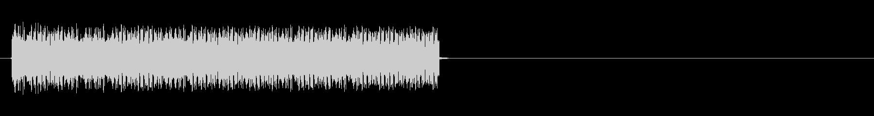 ビリビリビリッ(電気、感電)の未再生の波形