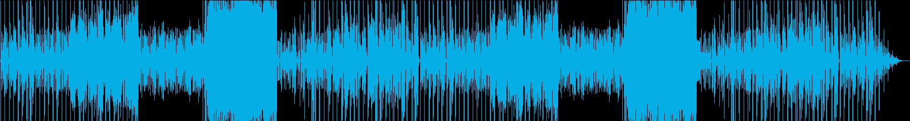 静か目リズムの楽しいチップチューンの再生済みの波形