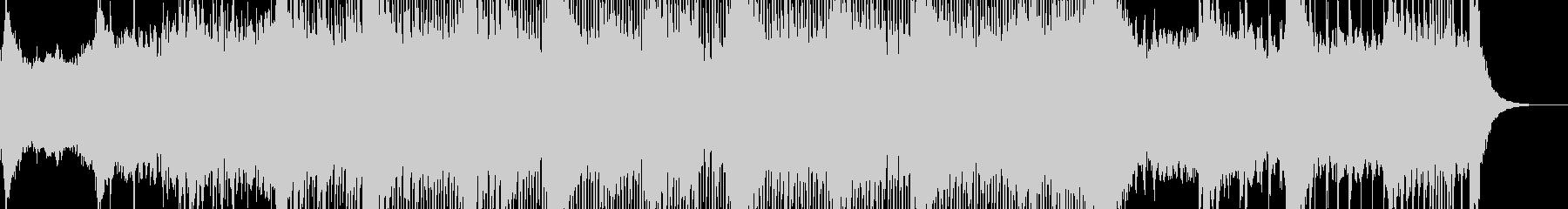 アナログなエレクトロの未再生の波形