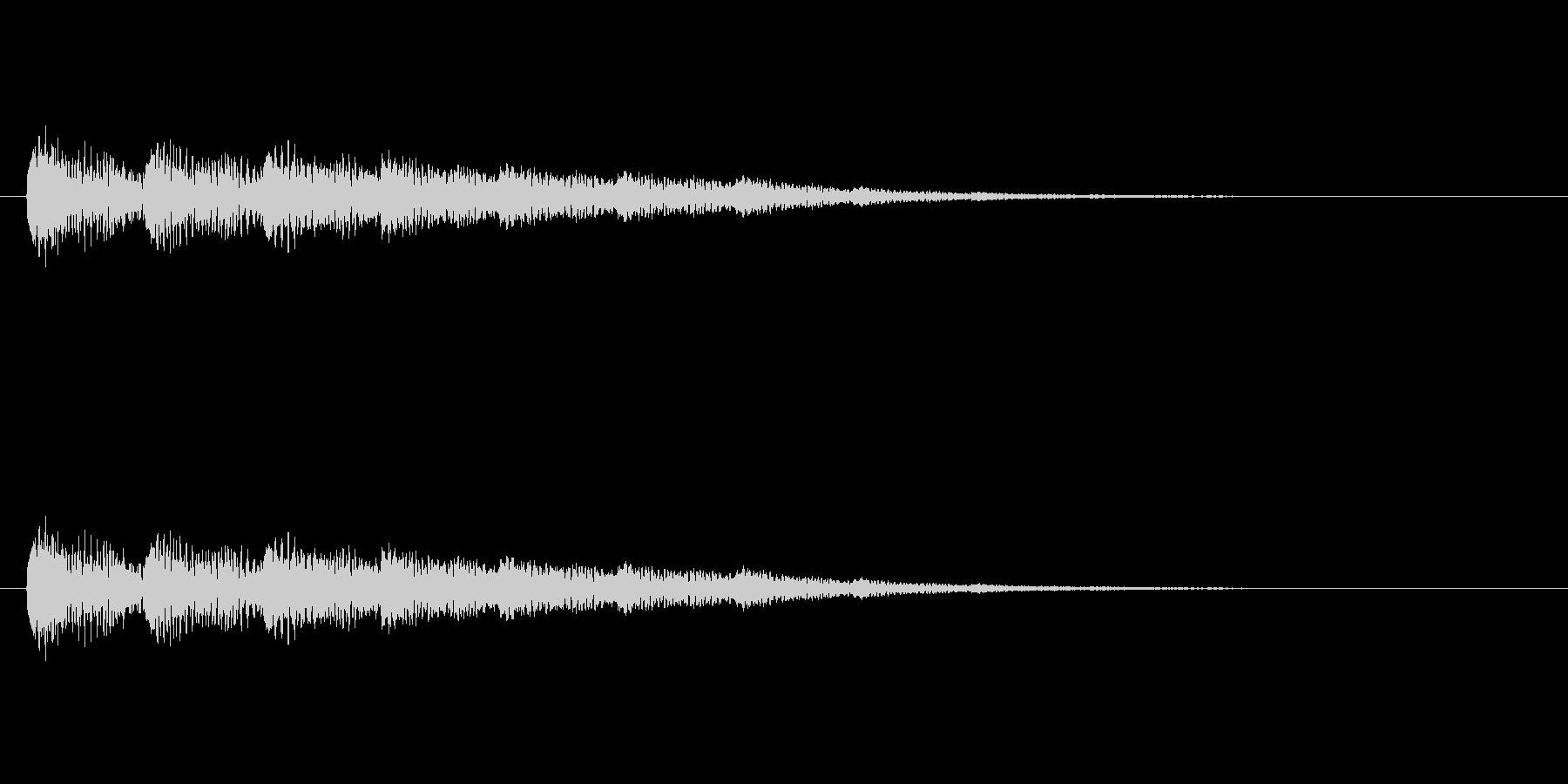【ネガティブ09-2】の未再生の波形