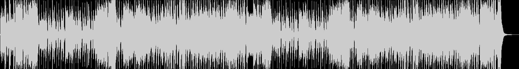 子供のイメージにほのぼのと明るい楽曲の未再生の波形