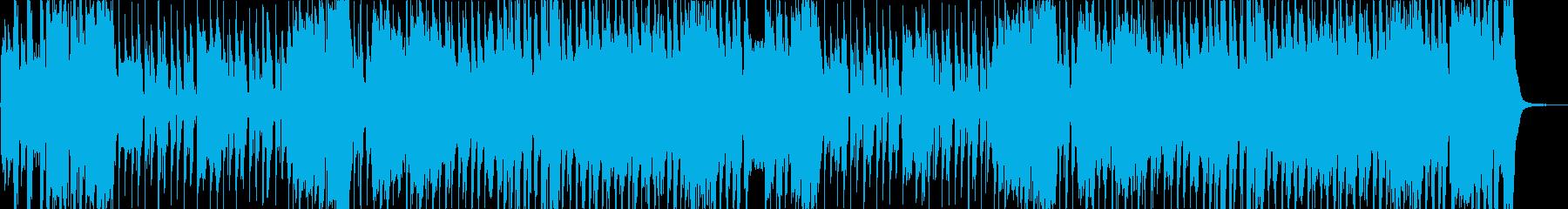 子供のイメージにほのぼのと明るい楽曲の再生済みの波形