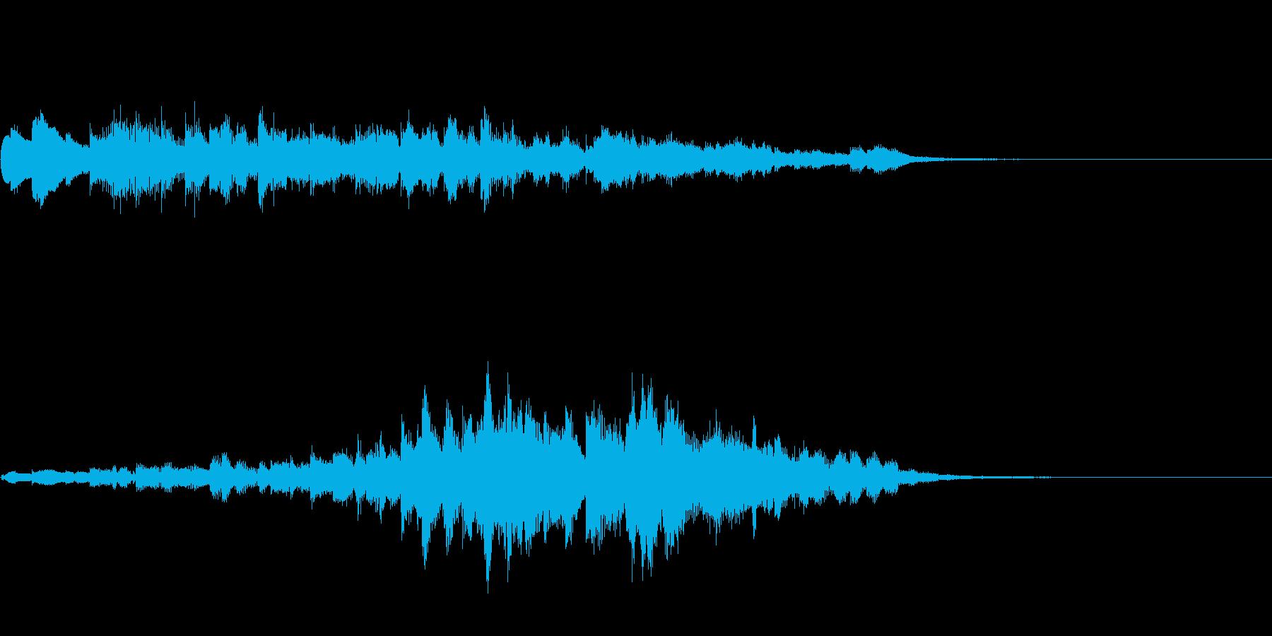 ウィンドチャイム(キラキラ)_04の再生済みの波形