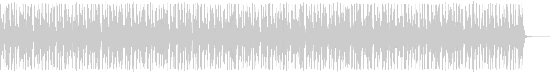 口笛、手拍子、ピアノが可愛いBGM60秒の未再生の波形