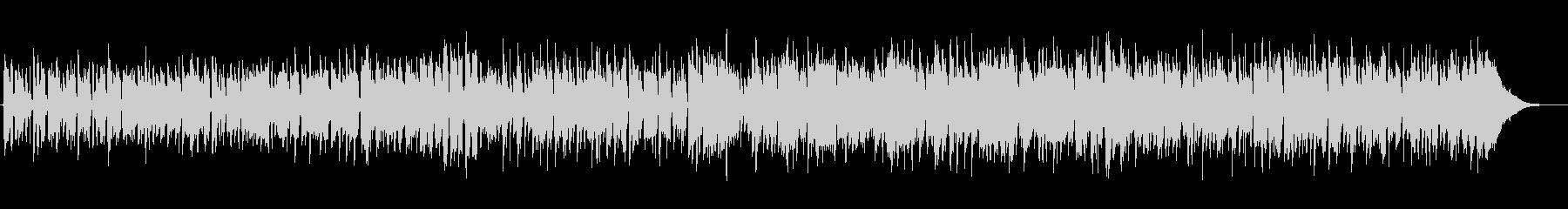 のんびりアコースティックカントリーBGMの未再生の波形