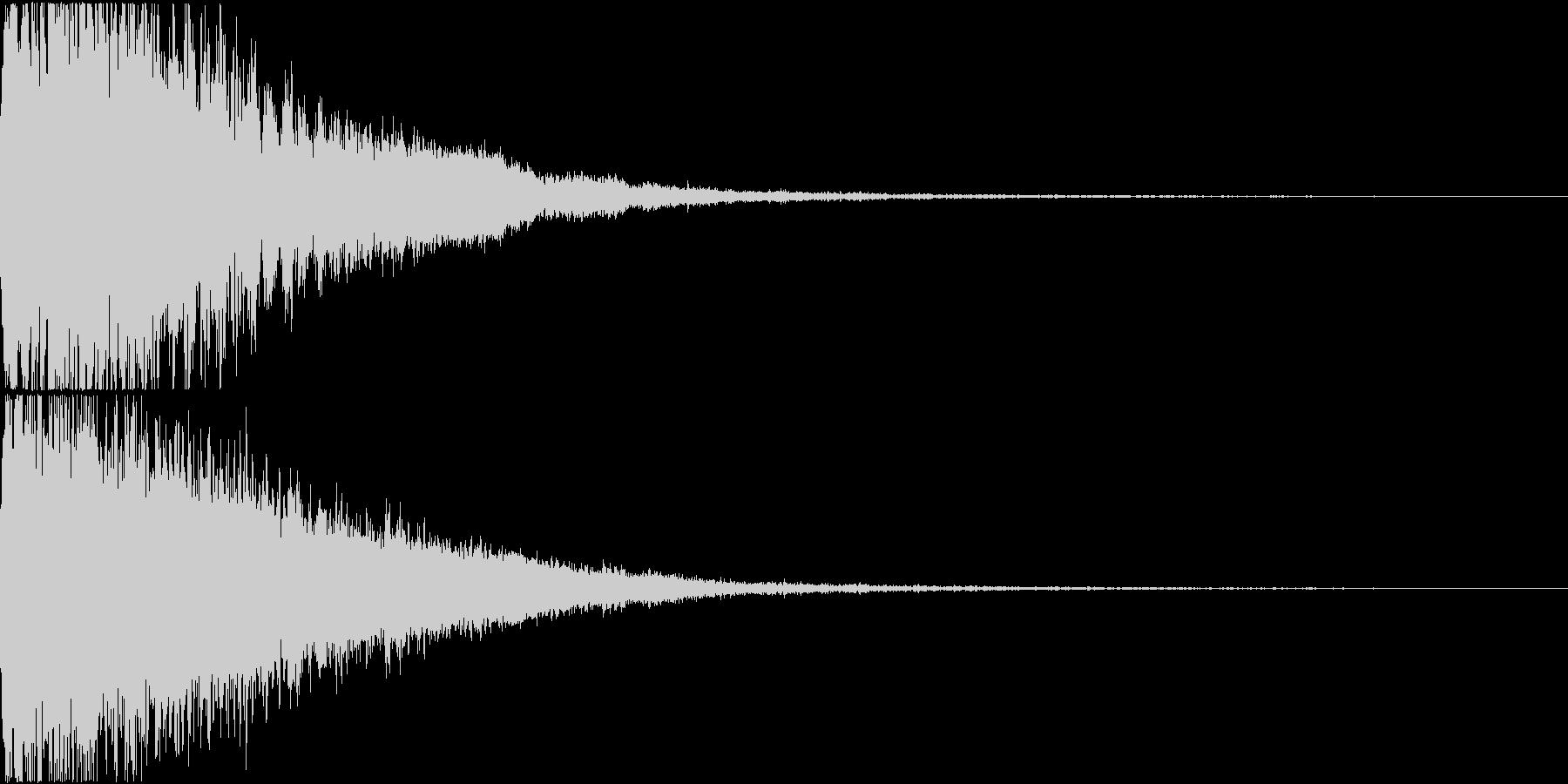 ロボット 合体 ガシーン キュイン 33の未再生の波形