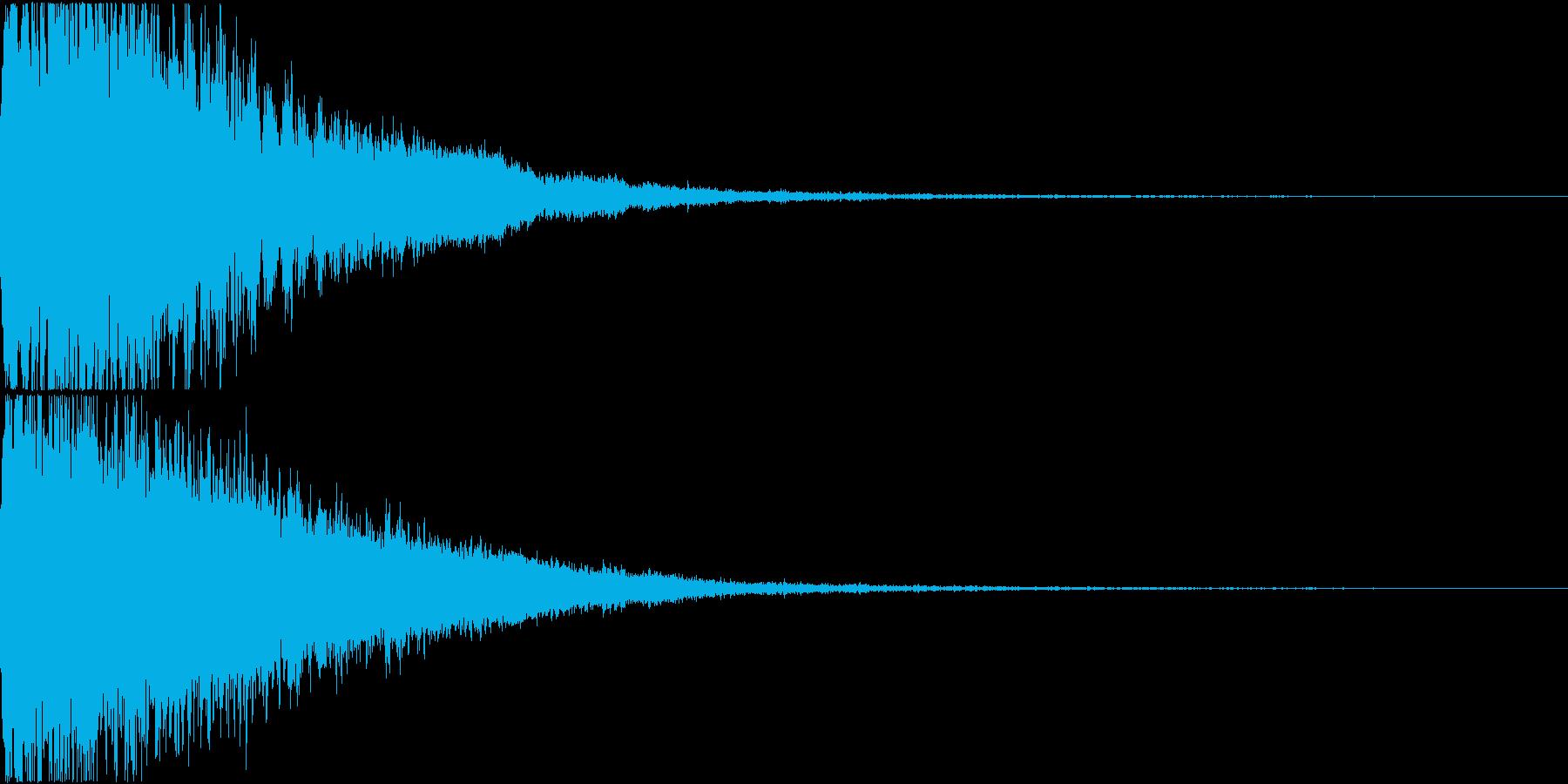 ロボット 合体 ガシーン キュイン 33の再生済みの波形
