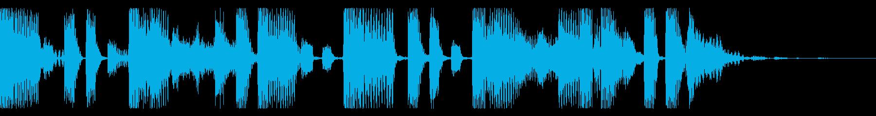 代替ポップインスタンス。エレクトロ...の再生済みの波形